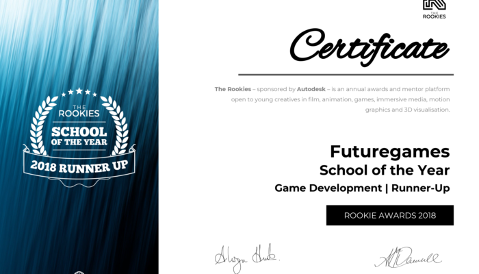 FutureGames is the Second Best Game Dev School in the World