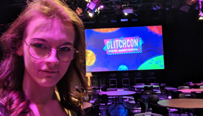 Freya at GlitchCon: Digital Games Festival 2018